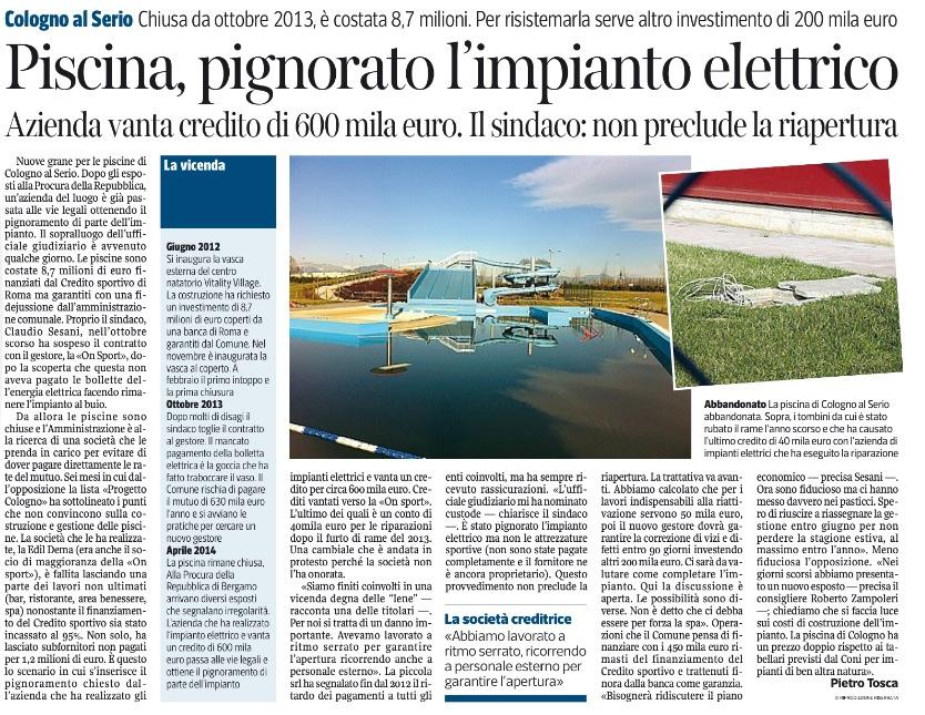 Corriere della Sera, 10 aprile