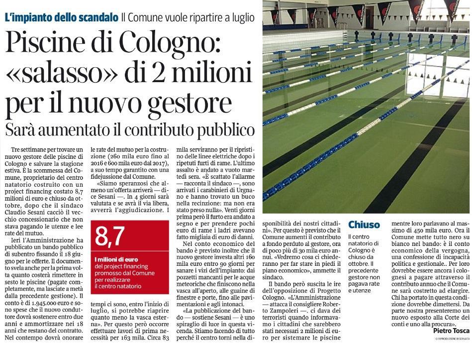 Corriere 30 maggio 2014
