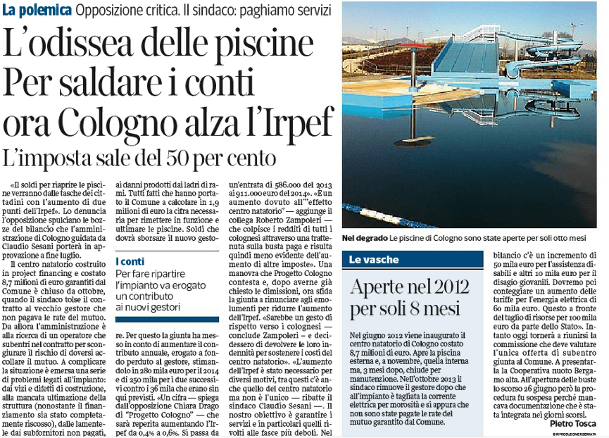 Corriere 9 luglio 2014