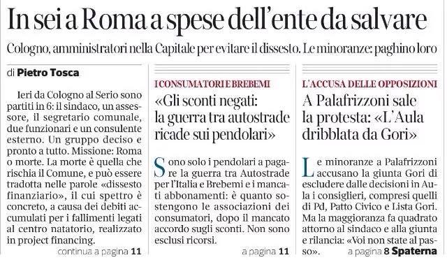 Corriere 4 dicembre