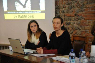 Le psicologhe Giulia Franco ed Elisa Bertoncelli